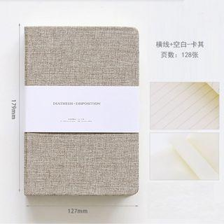 Tranquil Theme Canvas Notebook