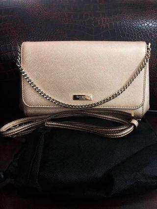REPRICE!! Kate Spade Gold Sling Bag #gooddeal #flashsale #payday #katespade