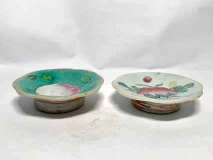 Antique Porcelain Bowls 2pcs a set