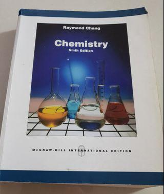 Chemistry 9th ed by  Raymond Chang