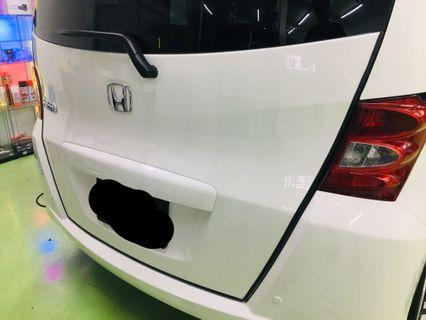 Freed rear boot bumper guard