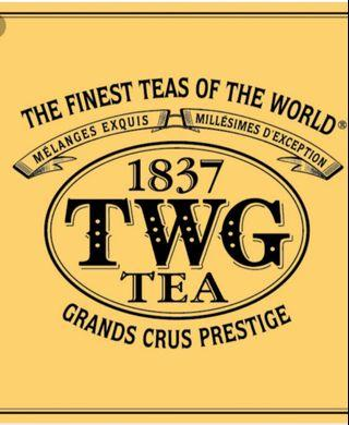 TWG Tea Bags (6 Selections to choose from)