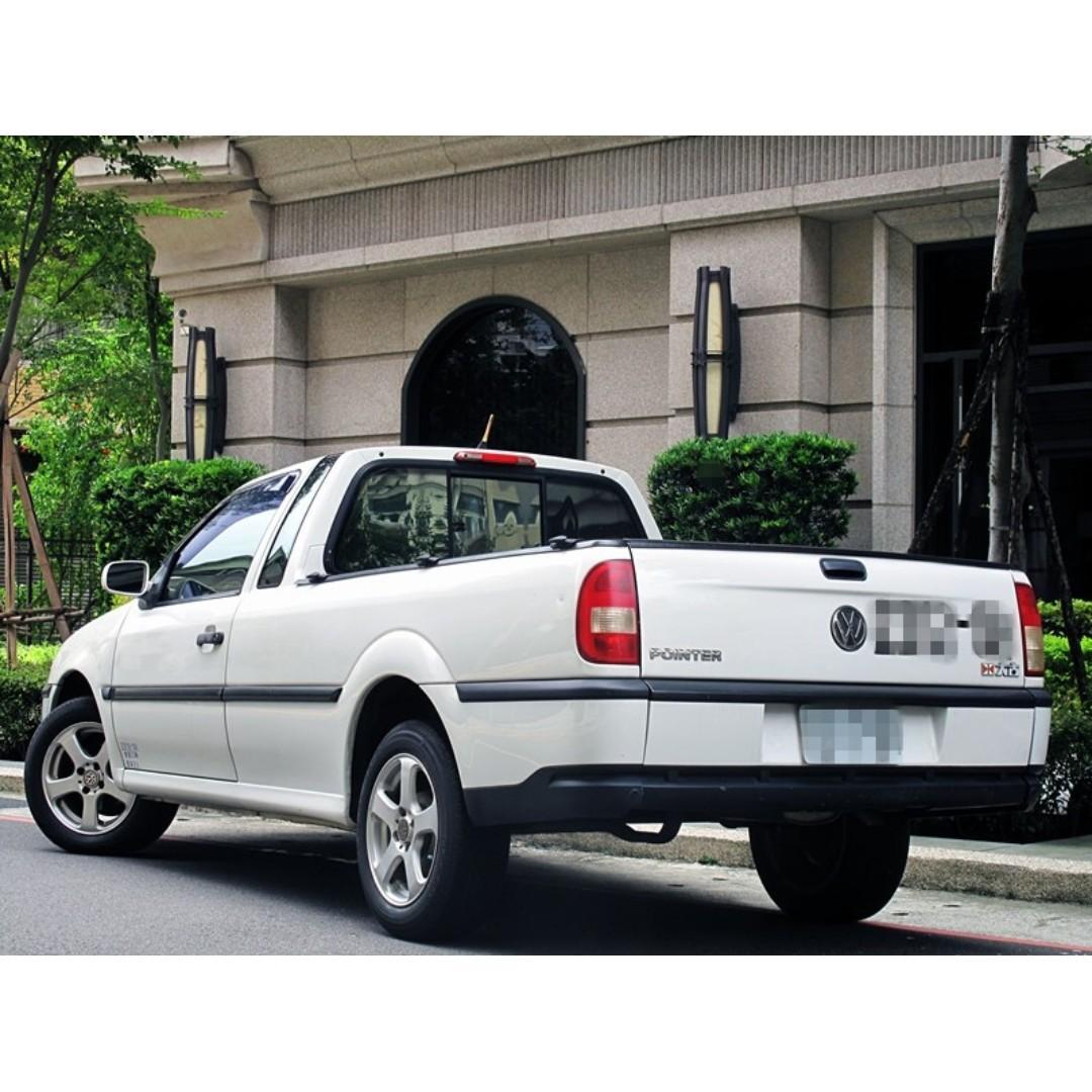 2005 VOLKSWAGEN POINTER 自用小貨車1.8L 手排 #全年度稅金7500元 只跑9萬公里