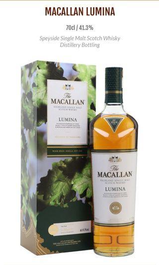 The Macallan Lumina (Single Malt Whiskey)