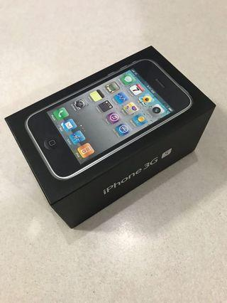 IPhone 3Gs 8GB Box with Quick Start guide & SIM card pin