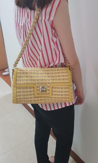 Kate Spade Tweed Flap Bag