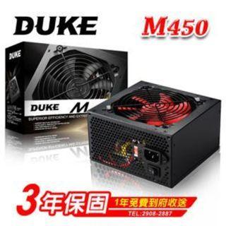 松聖 DUKE M450-12 450W 電源供應器 POWER 用料不錯