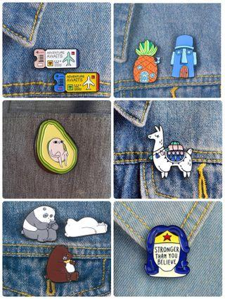 Random Pins