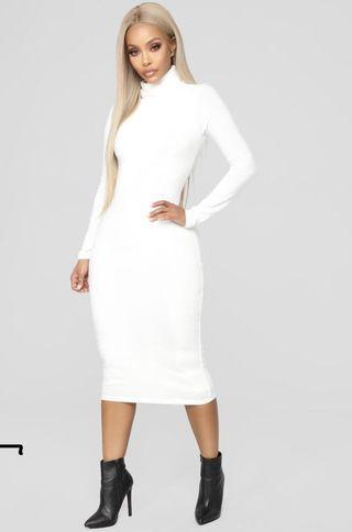 Midi Dress- Fashion Nova