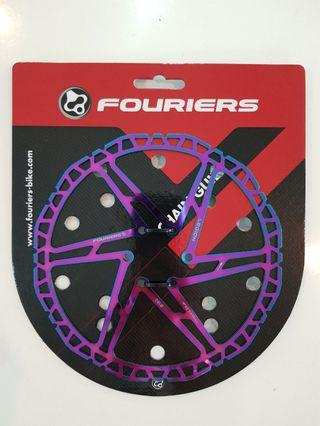 **In-Stock = Rotor Hydraulic Disc Brake 160mm & 180mm With 6pcs Bolt Ti-Coating Ultra Light Weight Oil Slick FOURIERS  ***160mm at $38 ***180mm at $48
