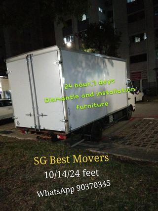 Mover Movers and Dismantle and installation and disposal furniture, SG cheapest Movers