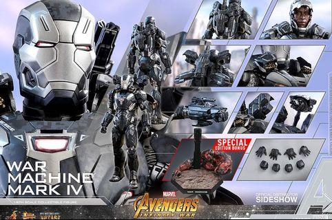 WTS Hot Toys War Machine Mark IV Special Edition