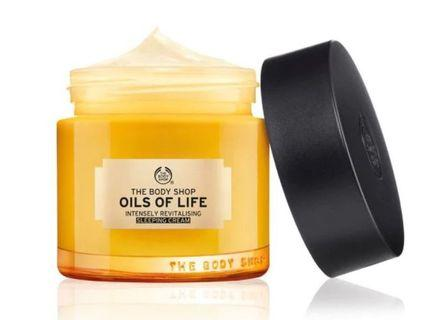 #bagibagi [Share] The Body Shop OILS OF LIFE SLEEPING CREAM