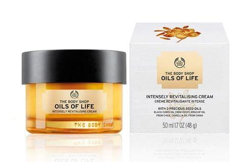 #bagibagi [Share] The Body Shop OILS OF LIFE INTENSELY REVITALISING CREAM SAMPLE
