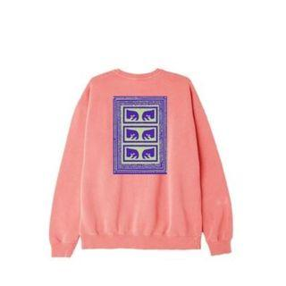 OBEY American street men's long-sleeved round neck sweater