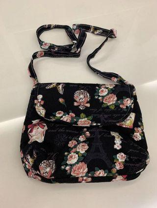 FREE New Floral Sling Bag