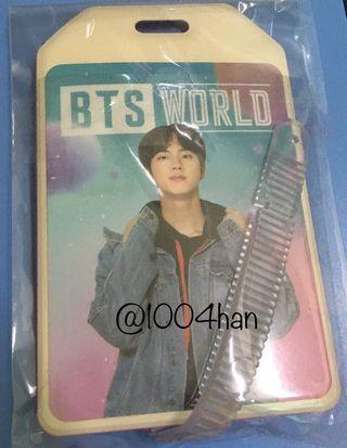 [WTS] BTS World Ost Name Tag