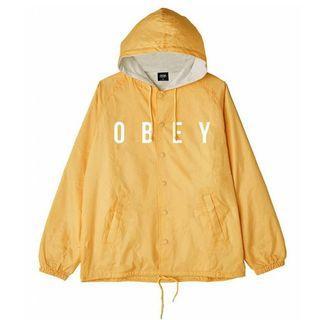 OBEY American Men's Long Sleeve Casual Sports Hooded Jacket