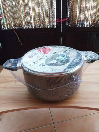 Soup pot Marble Coated (24sm)