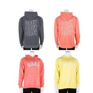 OBEY American street fashion Logo hooded sweater
