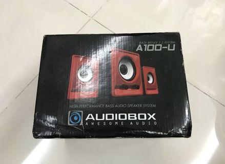 New Audio Box Speakers