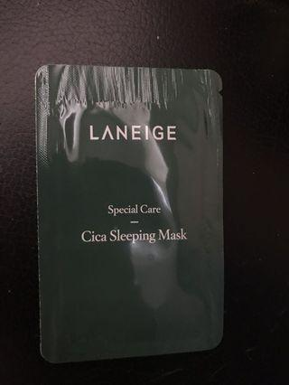 Laneige Cica Sleeping Mask Sample