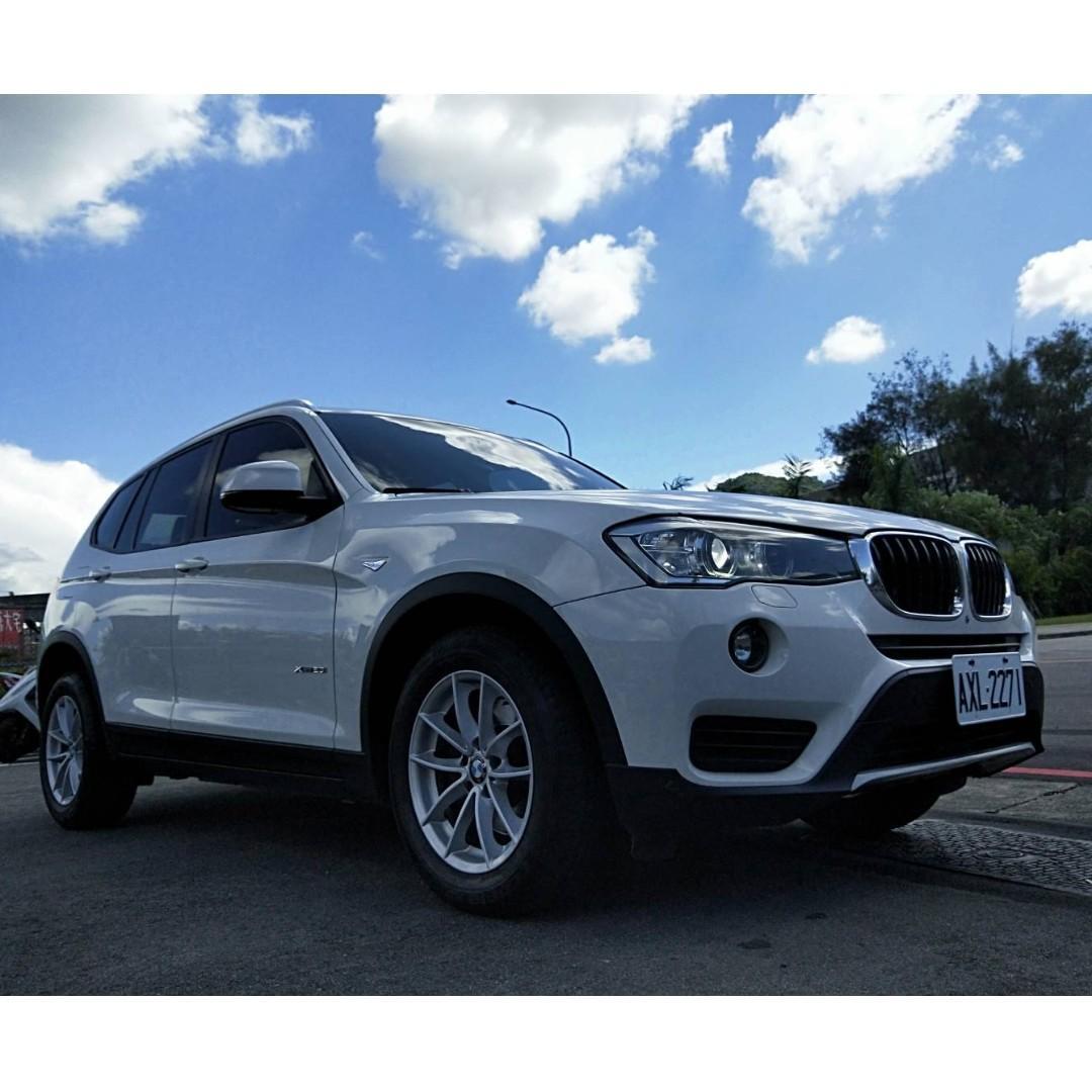 總代理一手車新款 BMW X3 XDrive2.0i
