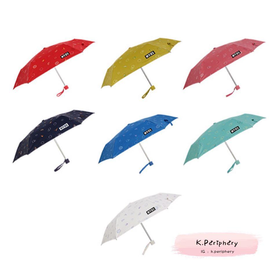BT21 x Monopoly Safely Automatic Folding Umbrellap