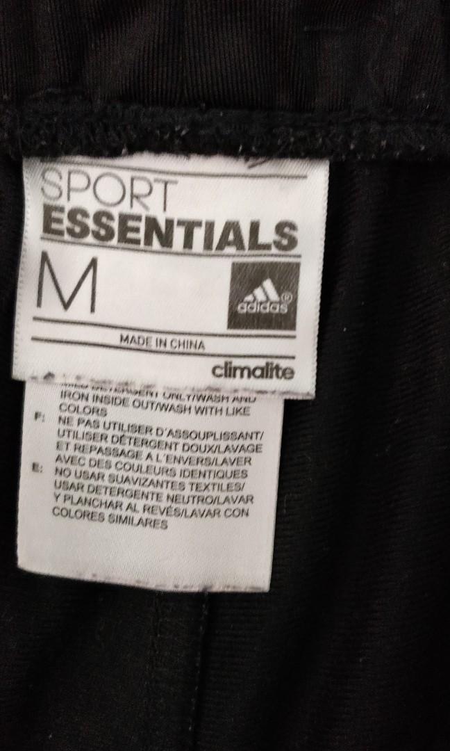 Adidas 運動褲中碼冰涼質地二手