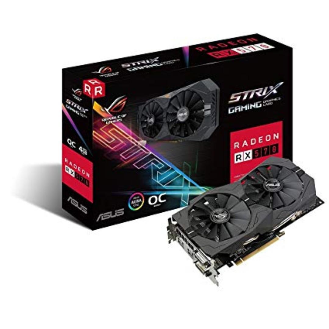 ASUS ROG STRIX RX 570 4GB