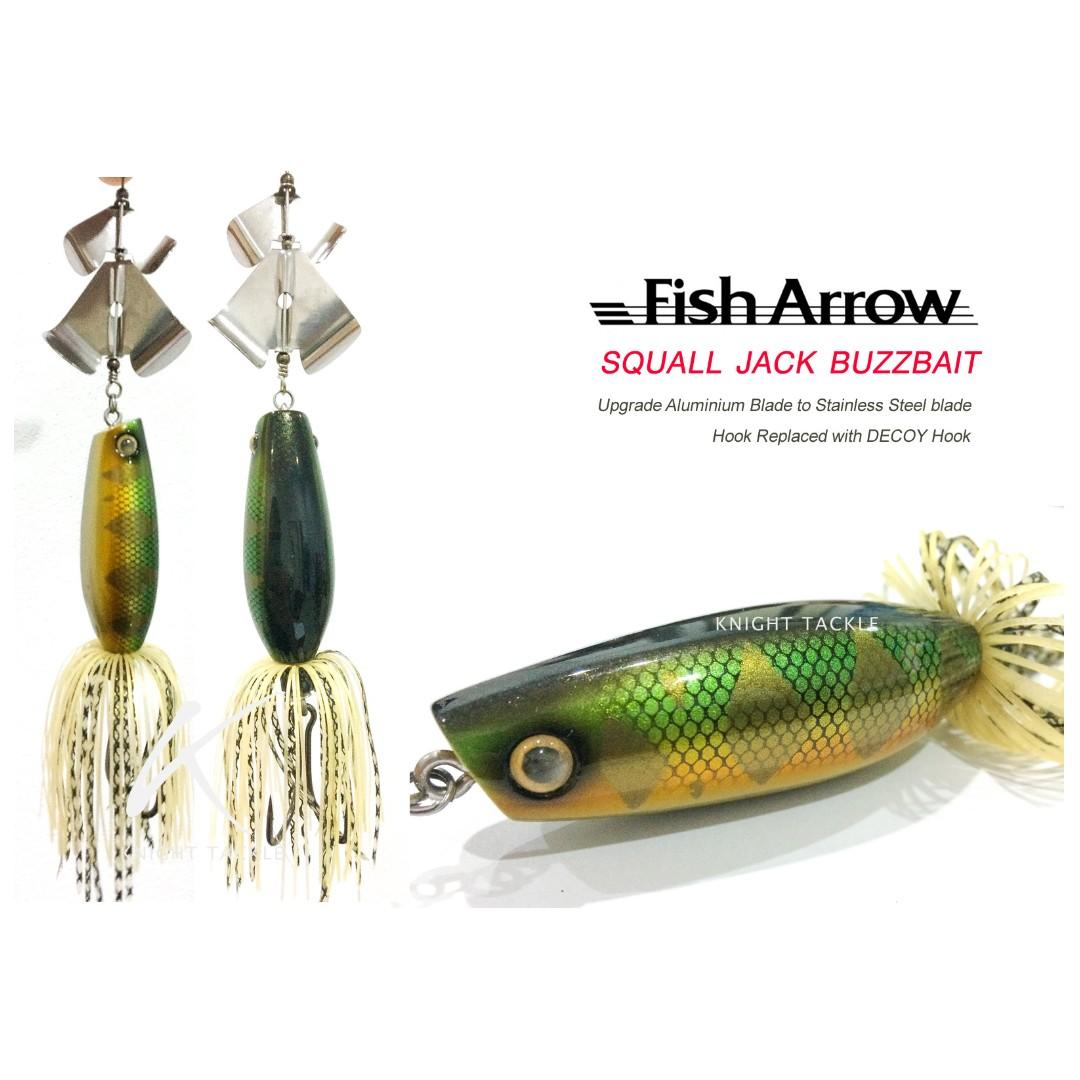 Available soon in Knight Tackle! Japanese wooden buzzbait! Limited!