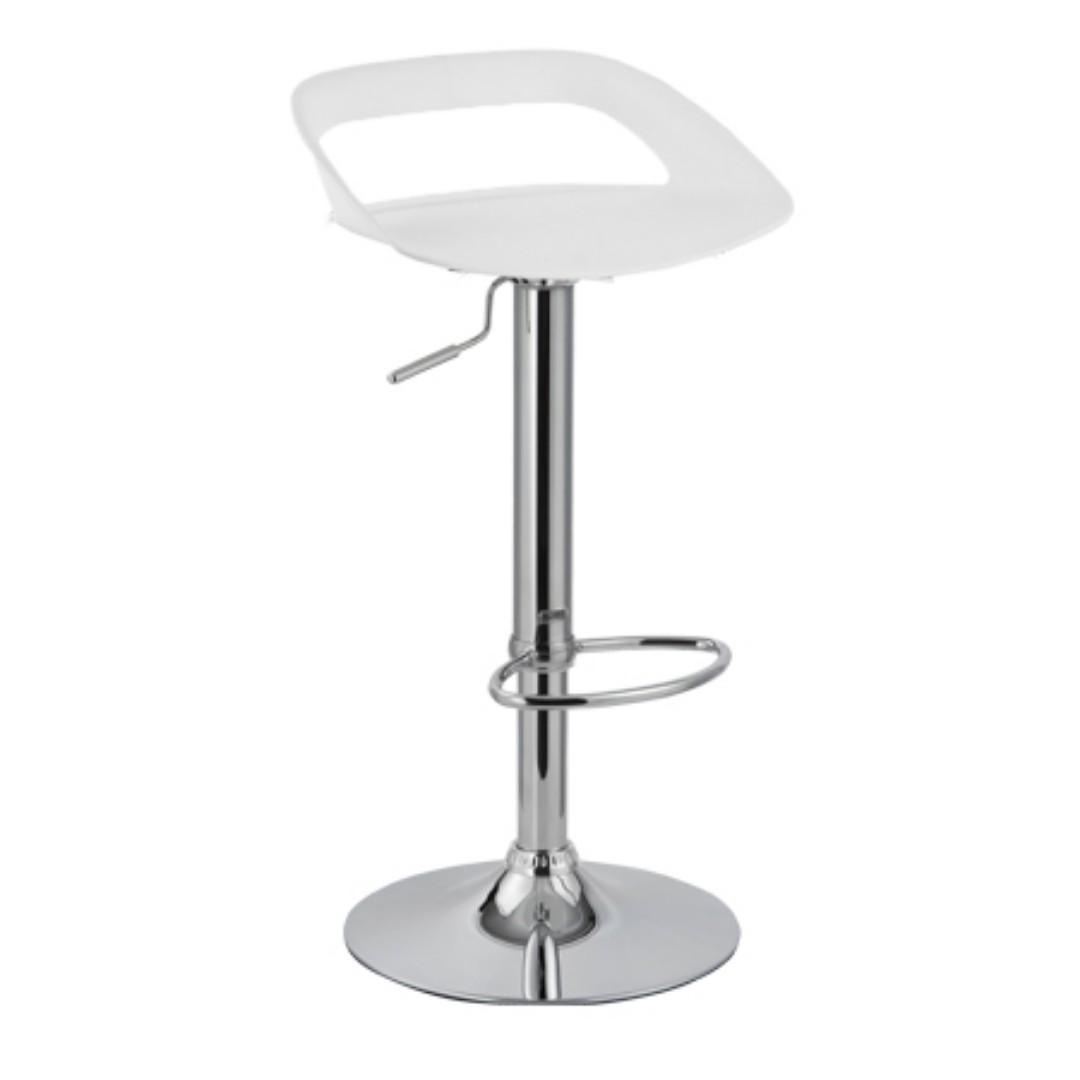 Bar Restaurant Furniture Sale Sumo Bc 96wht Bar Chair White Vanity Chair Bar Stool Cafe Chair Kitchen Chair Home Furniture Furniture Fixtures Tables Chairs On Carousell