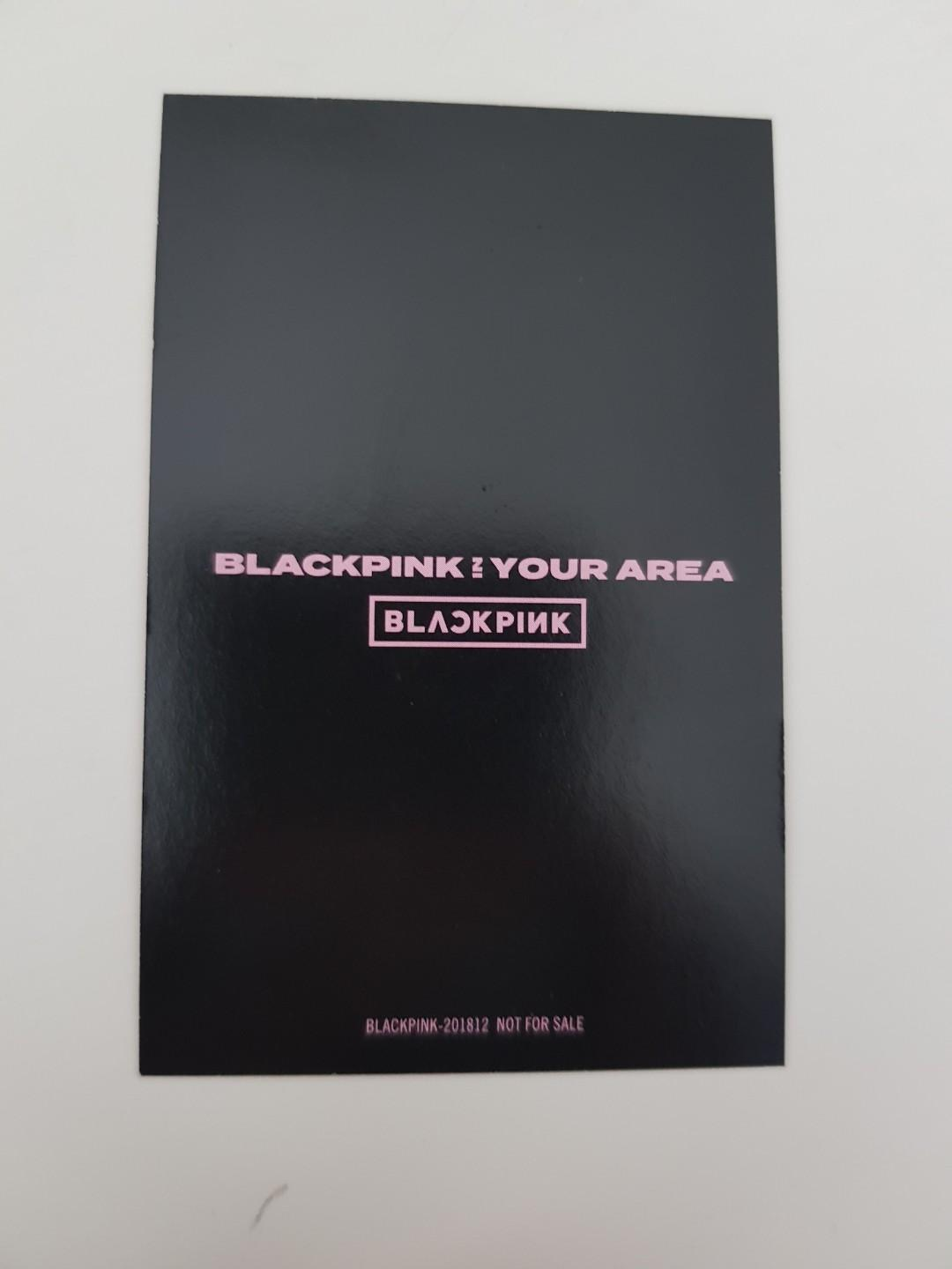 BLACKPINK LISA PHOTOCARD (IN YOUR AREA JAPAN LIMITED)