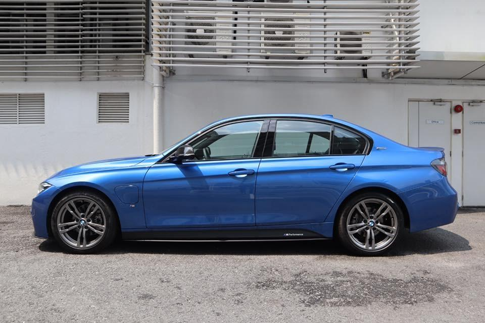 BMW 330e M Sport & M Performance package