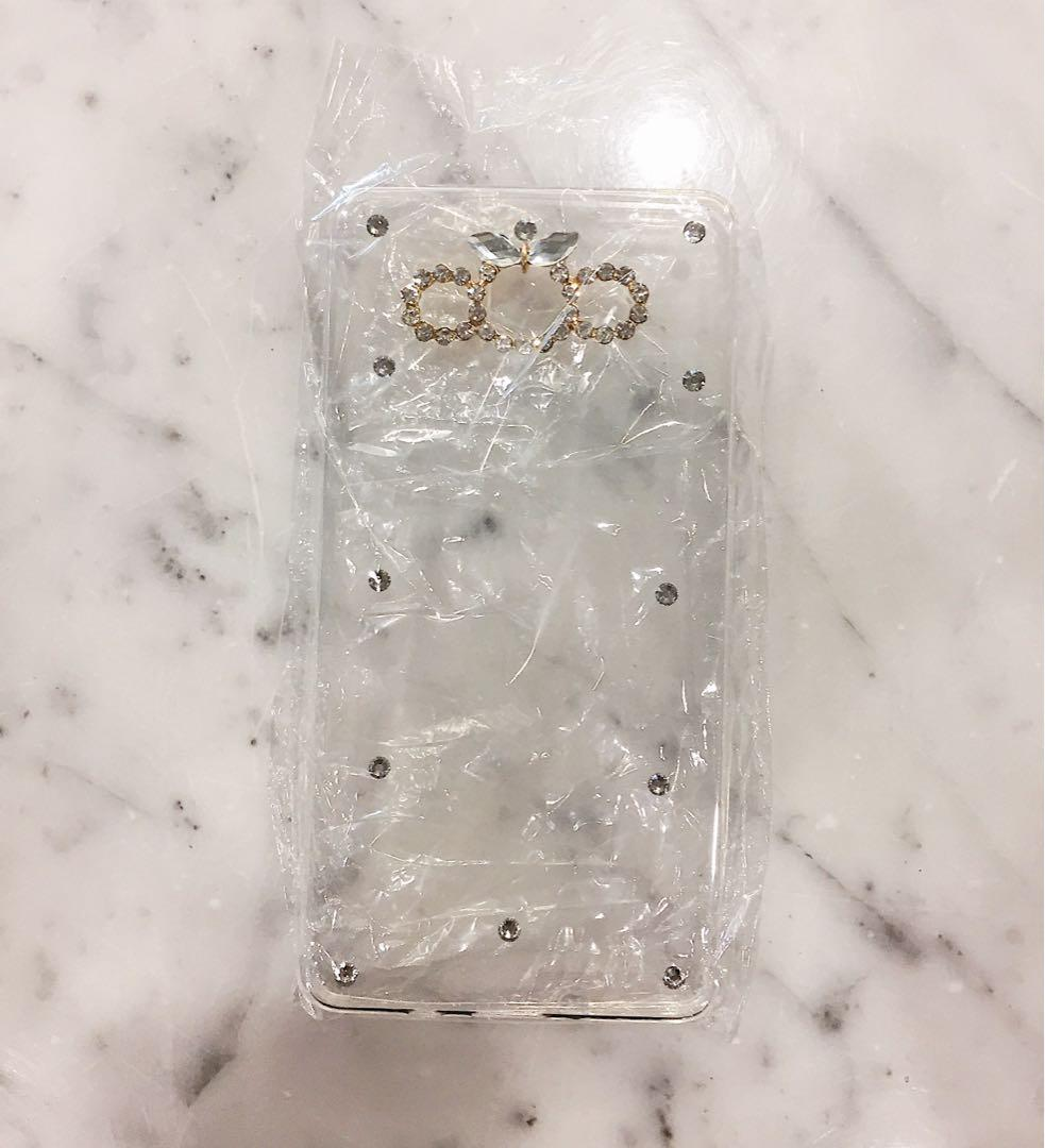 BRAND NEW IN PACKAGING BEJEWELED SAMSUNG/ANDROID PHONE CASE