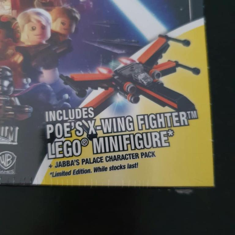 Brand new sealed PS3 Lego Star Wars The Force Awakens Special Edition boxset