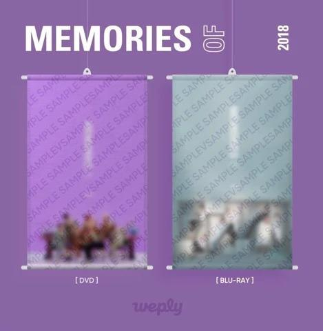 BTS MEMORIES 2018 PRE-ORDER GIFT FROM WEPLY (READ DESCRIPTION)