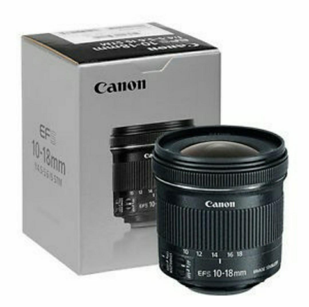 Cheapest! Brand New Canon 10-18mm STM Lens