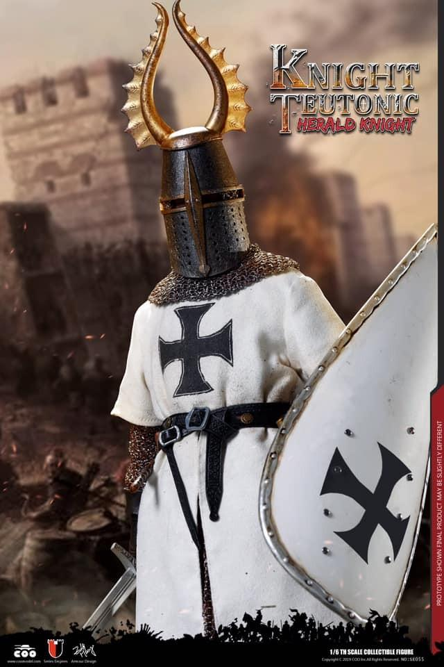 Coomodel Series of Empires No: SE055 - Knights of The Realm - Teutonic Knights: Herald KnightCoo Model