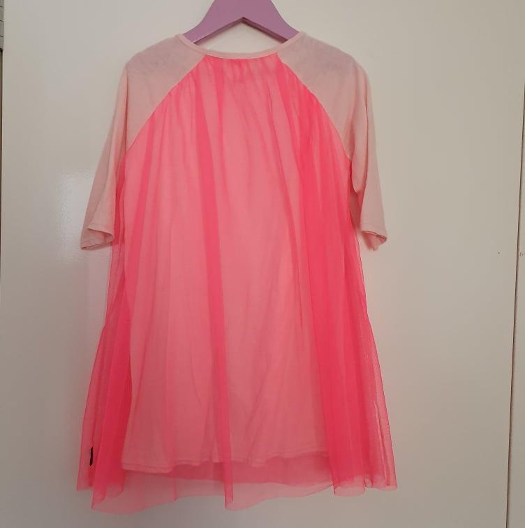 Euc 2014 girls Bonds Size 4 mesh dress 3/4 sleeves