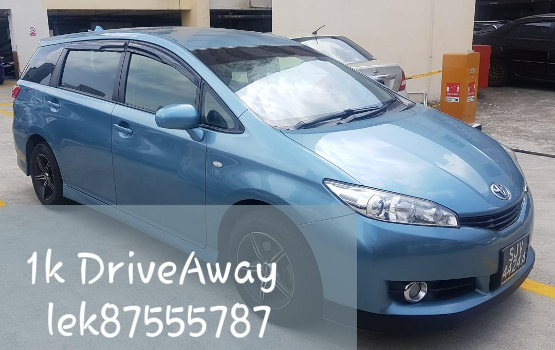 For sales Toyota wish (new 10 years coe)