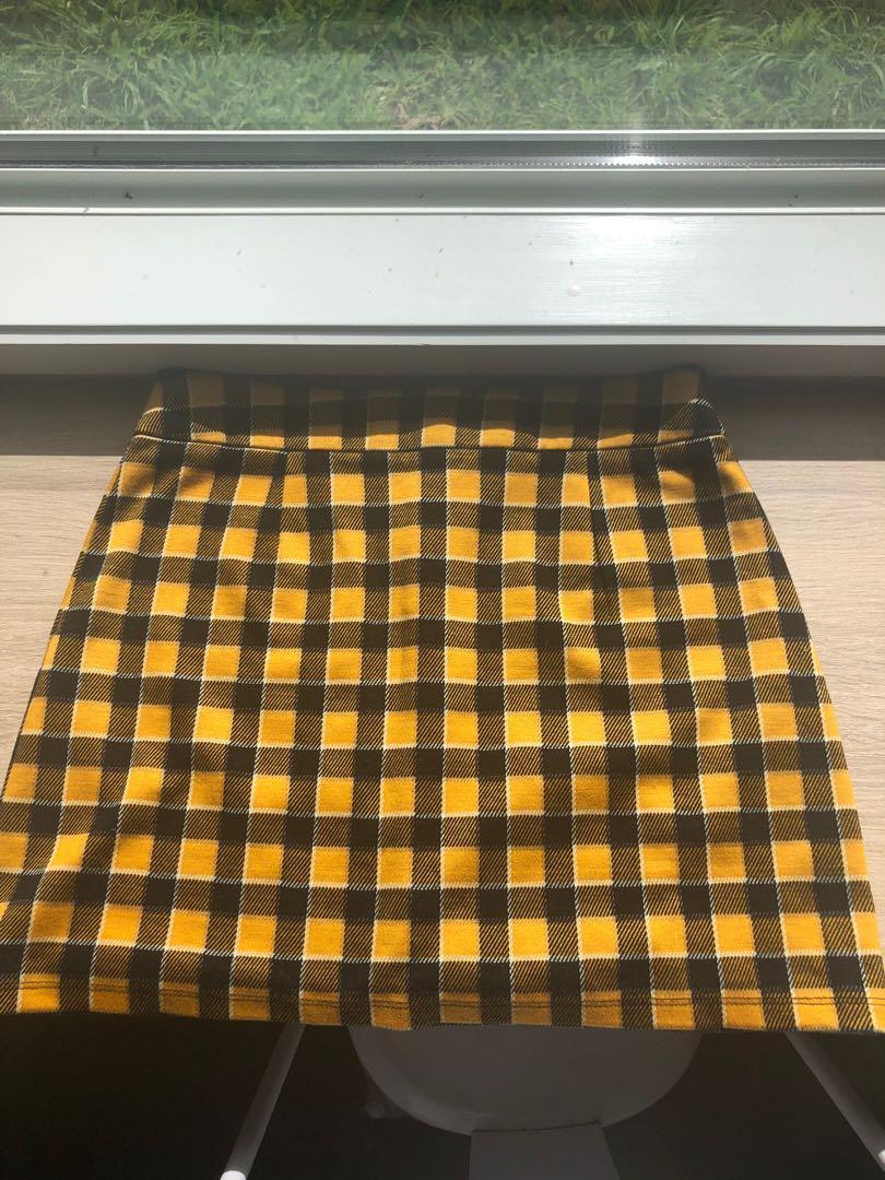 Glassons tartan skirt