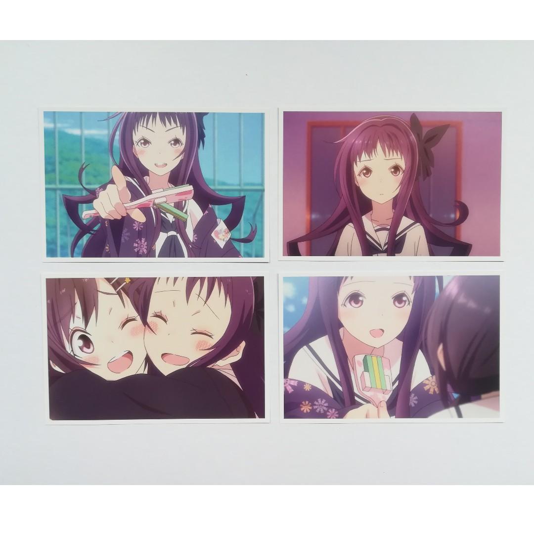 Hanayamata - Sekiya Naru / Sasame Yaya / Hannah N. Fontanstand -  Caramide with Voice / Character Voice Amide / Character with Voice