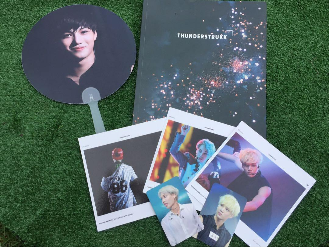 Kai Thunderstruck Photobooks 1st edition by Mr.Destiny