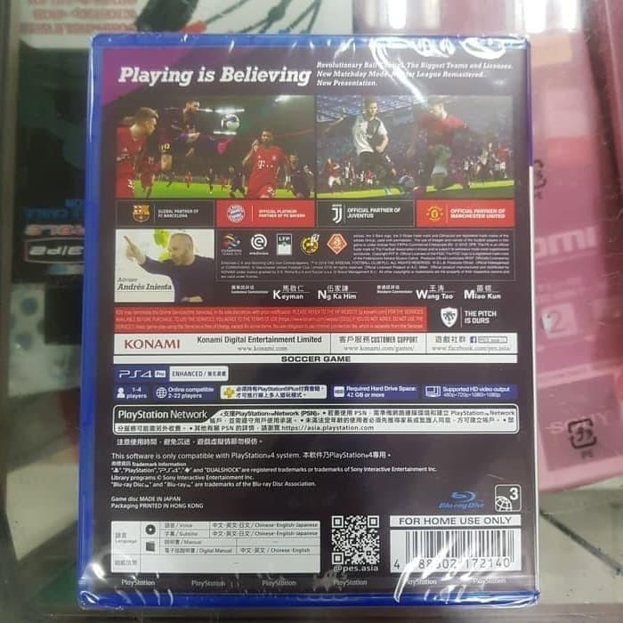 KASET PS4 PES 2020 REGION 3