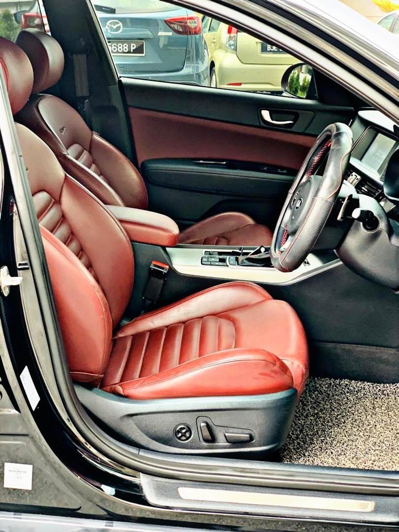 KIA OPTIMA GT 2.0 TURBO 2018 (SAMBUNG BAYAR RM2450 X 5 years)