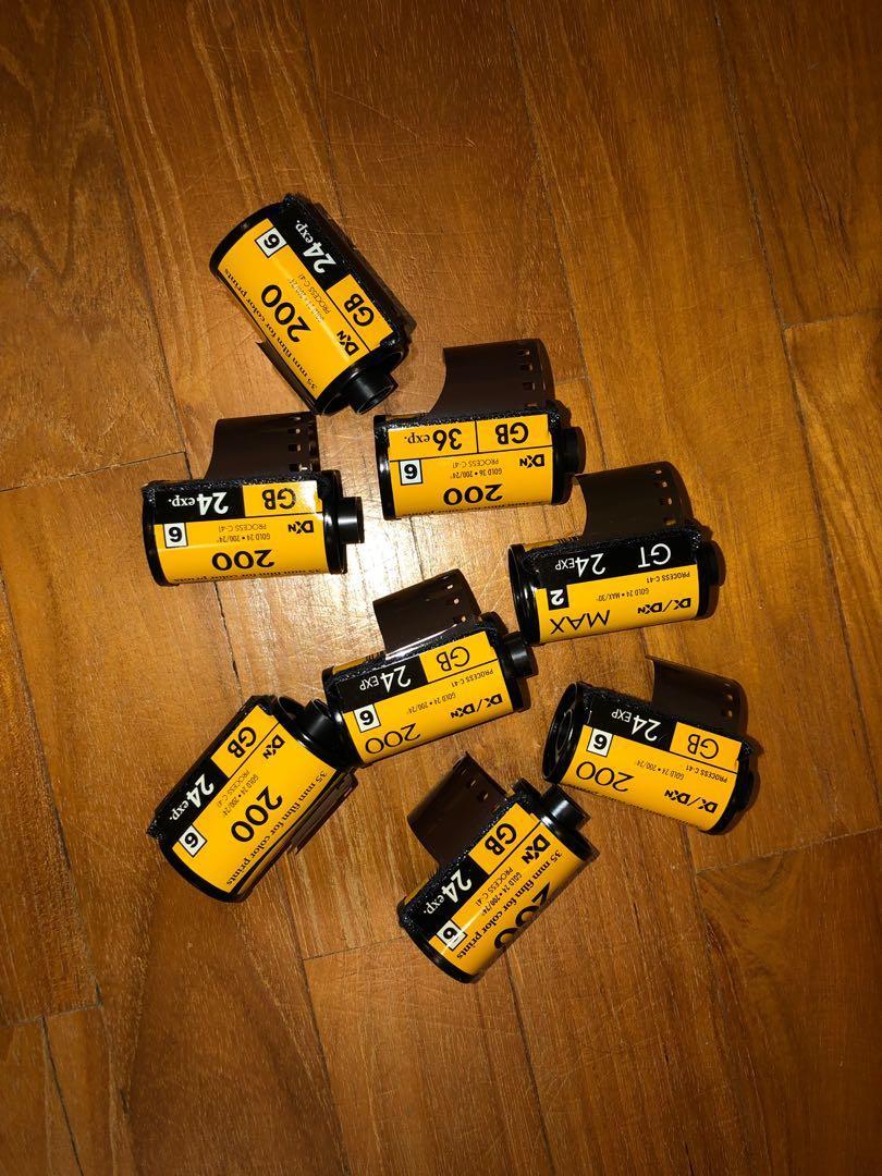 Kodak gold 200 35mm film
