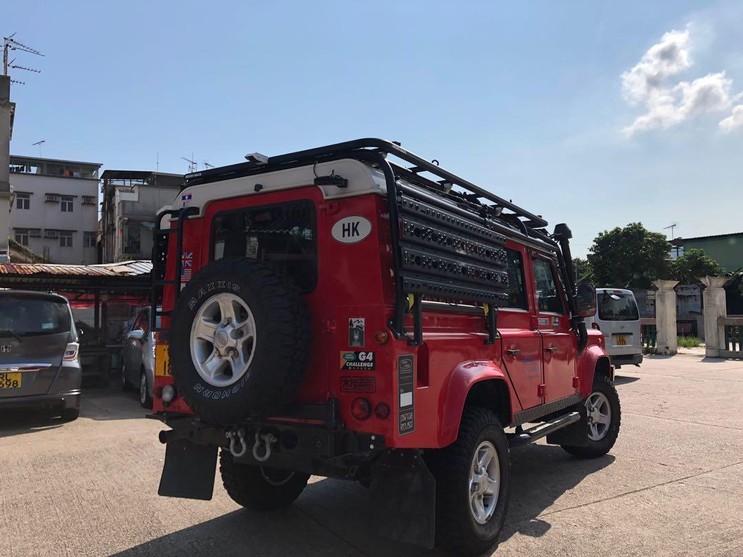 LAND ROVER DEFENDER 110 2.4