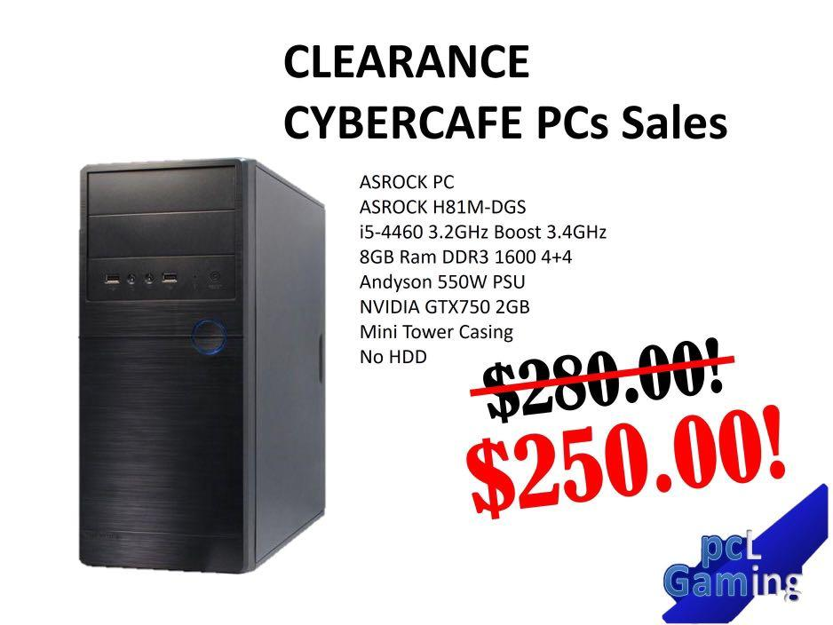 LAST PIECE Cybercafe Lanshop Gaming PC