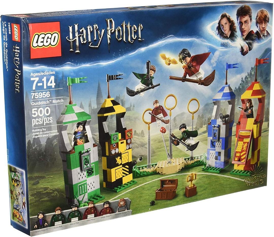 Lego 75956 Harry Potter Quidditch Match Toys Games Bricks